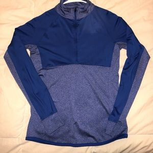 Women's 90 degree half zip active shirt